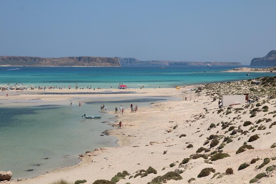 Beach, Island Of Crete, Greece, Vacations, Water, Sea