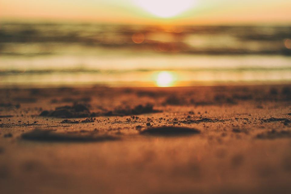 Sand, Beach, Sunset, Beach Sand, Summer, Ocean, Sea