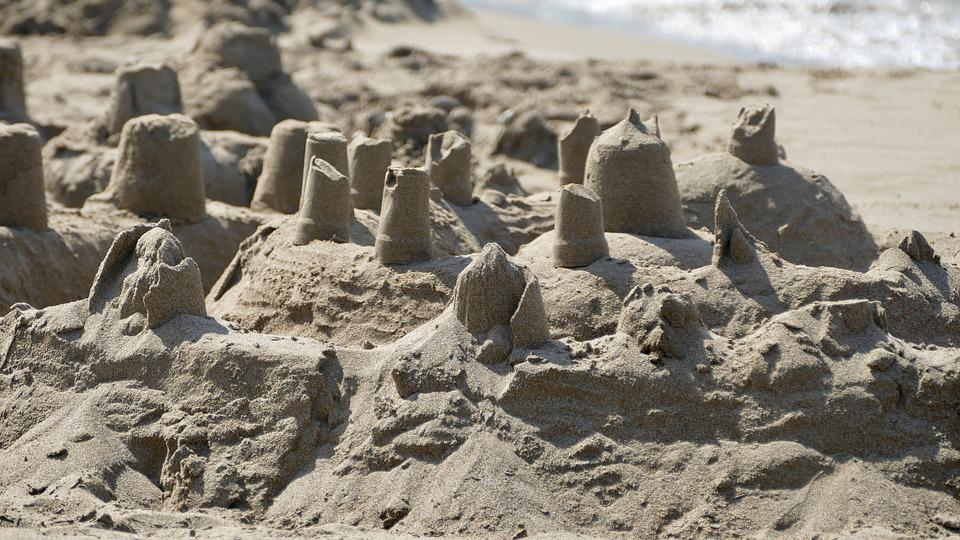 Sand, Castles, Sculptures, Sand Castles, Sea, Beach