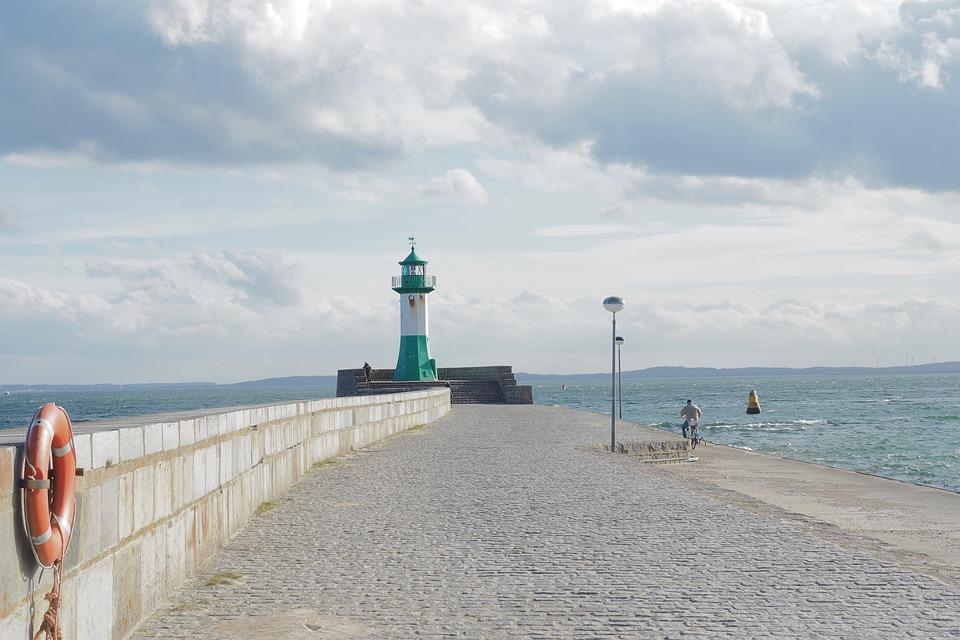 Sea, Waters, Beach, Summer, Coast, Sky, Nature
