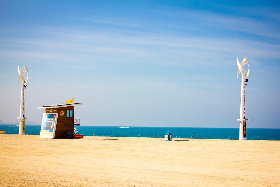 Beach, Sea, Coast, Sand, Waters, Sky, Ocean, Summer