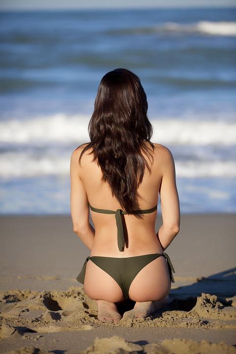 Sea, Beach, Onda, Beaches, Water, Sand, Girl, Glasses