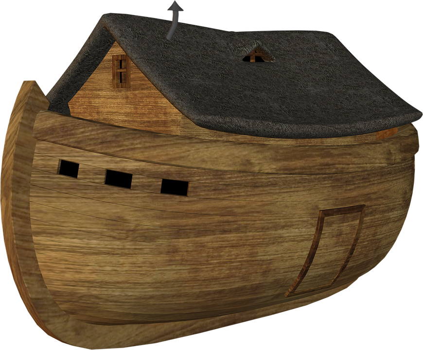 Arc, Noah, Noah Ark, Boat, Sea, Bible, Testament, Ship