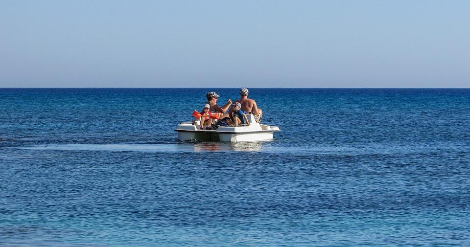 Cyprus, Sea Bike, Pedalling, Leisure, Fun, Tourism