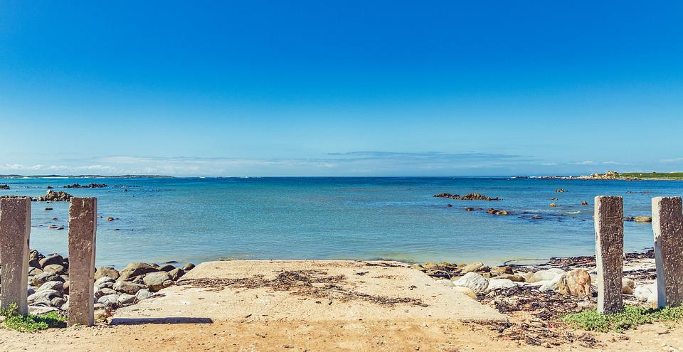 Sea, Jetty, Slipway, Ocean, Blue, Beach, Water, Sky
