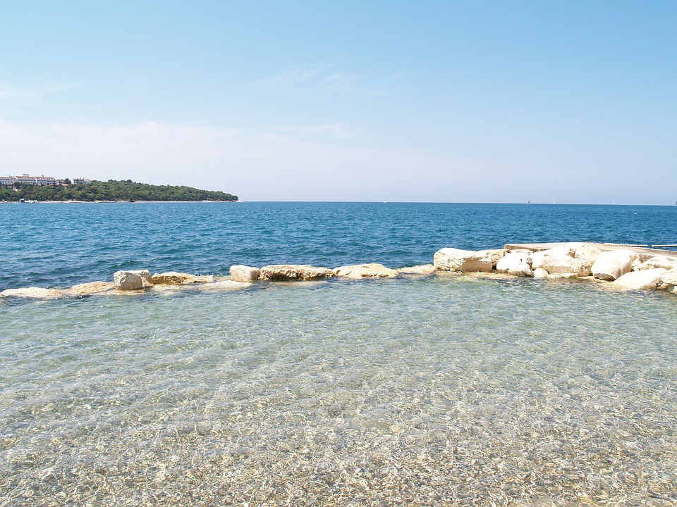Beach, Sea, Lazur, Blue