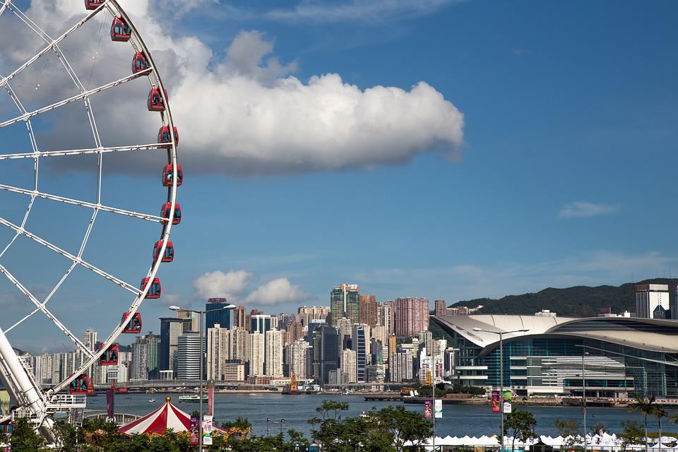 Blue, Hongkong, Sky, Landscape, Travel, Outdoor, Sea