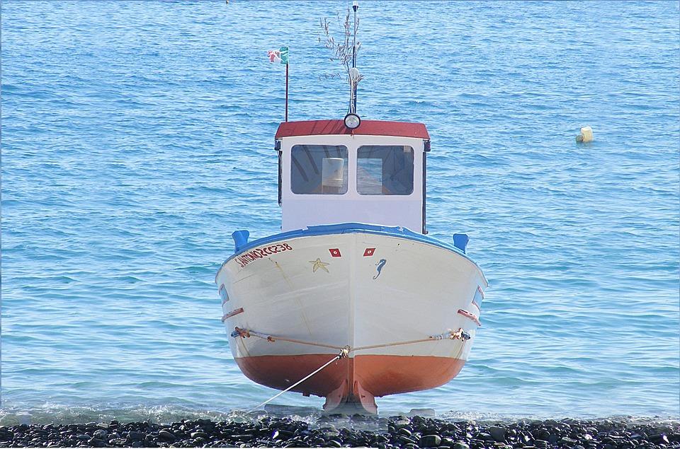 Beach, Sea, Boat, Fishing, Montegiordano Marine