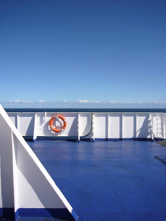 Boat, Ferry, Transport, Sea, Ship, Ocean, Blue, Sky