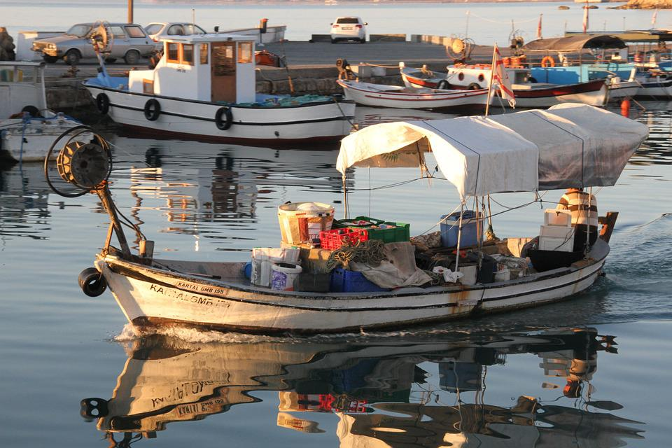 Boat, Water, Fishing, Sea, Travel, North Cyprus