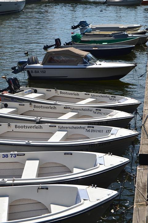 Boats, Motor, Port, Speedboat, Blue, Boating, Sea