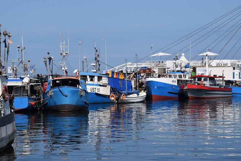 Port, Sea, Boats, Sky, The Coast, Summer