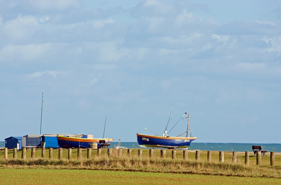 Fishing Boats, Wooden, Boats, Boat, Coast, Sea, Ocean
