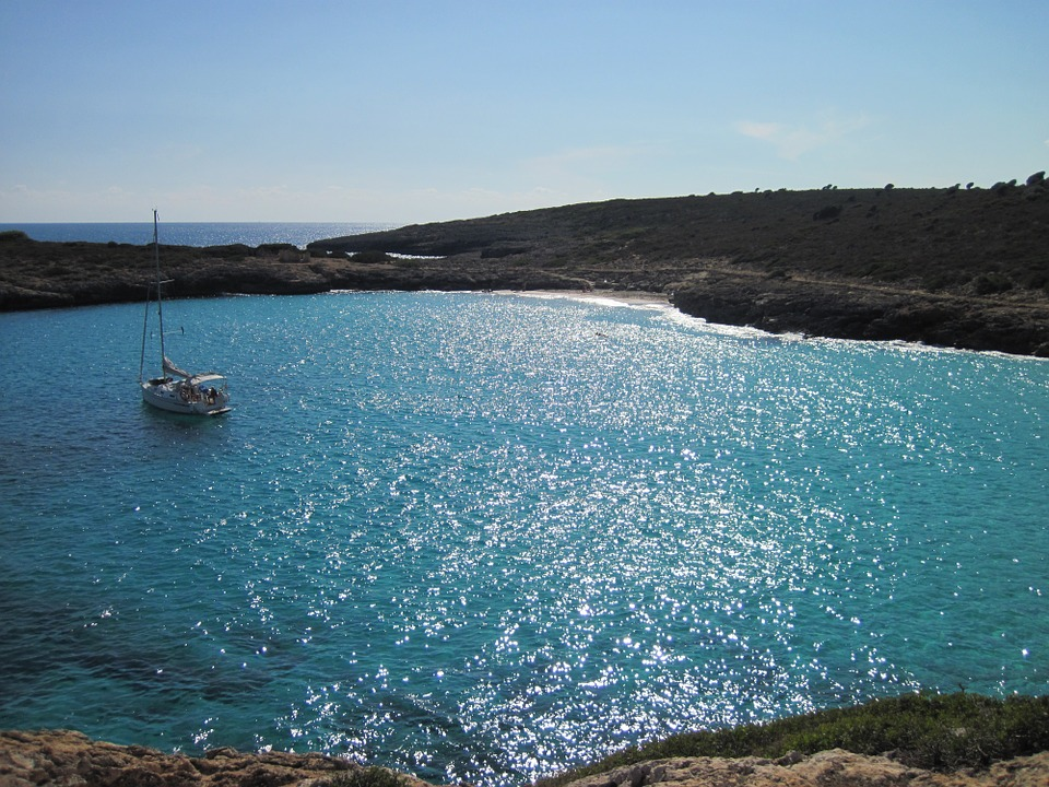 Sea, Boot, Mallorca, Sailing Boat, Ocean, Island, Sun