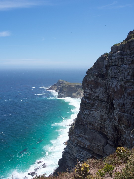 Cape, South Africa, Cape Of Good Hope, Cape Point, Sea