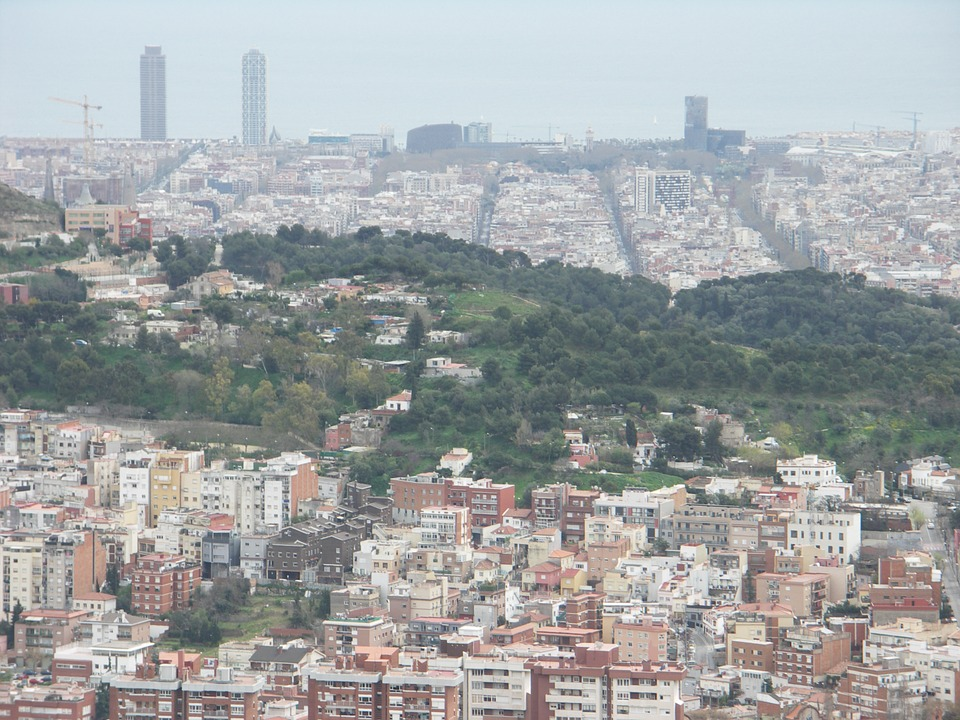 Barcelona, Sea, Catalonia, City, See, Landscape, Port
