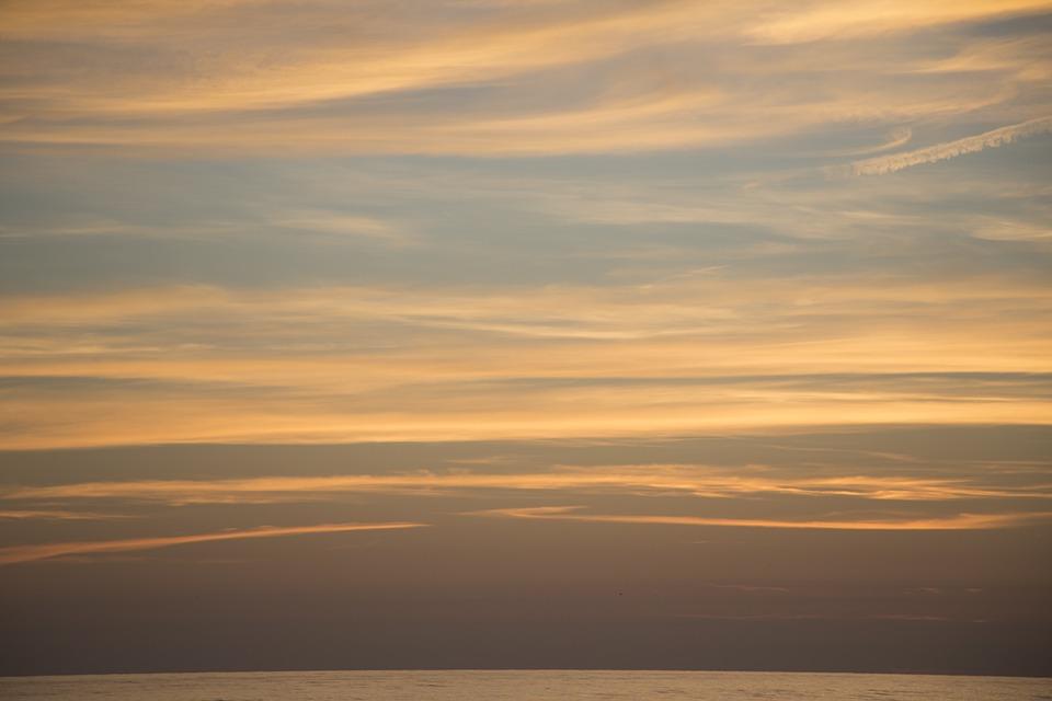 Sky, Clouds, Sea, Coastline