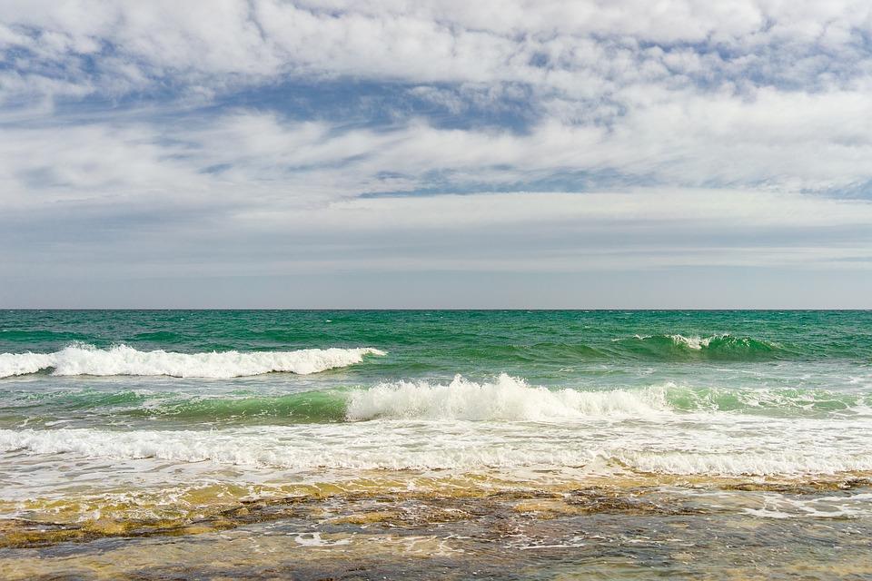Water, Sea, Nature, Ocean, Waves, Clouds, Horizon
