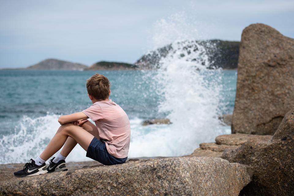 Ocean, Sea, Coastline, Waves, Water, Seascape, Coast