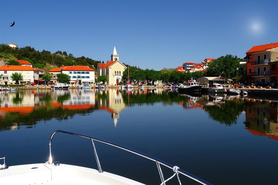 Sea, Sky, Water, Landscape, Coast, Boat, Vacations