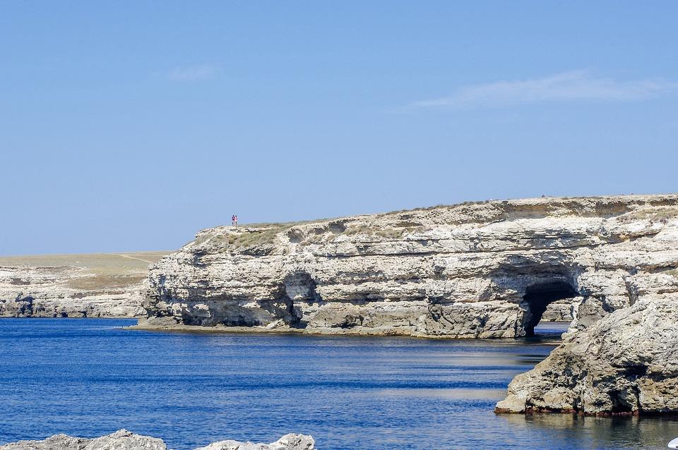 Nature, Water, Sea, Coast, Travel, Rocks, Tunnel