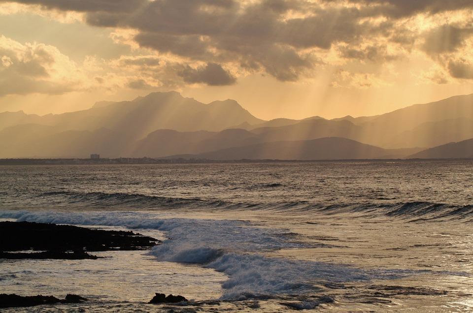 Coastal Landscape, Sea, Mediterranean, Island, Coast