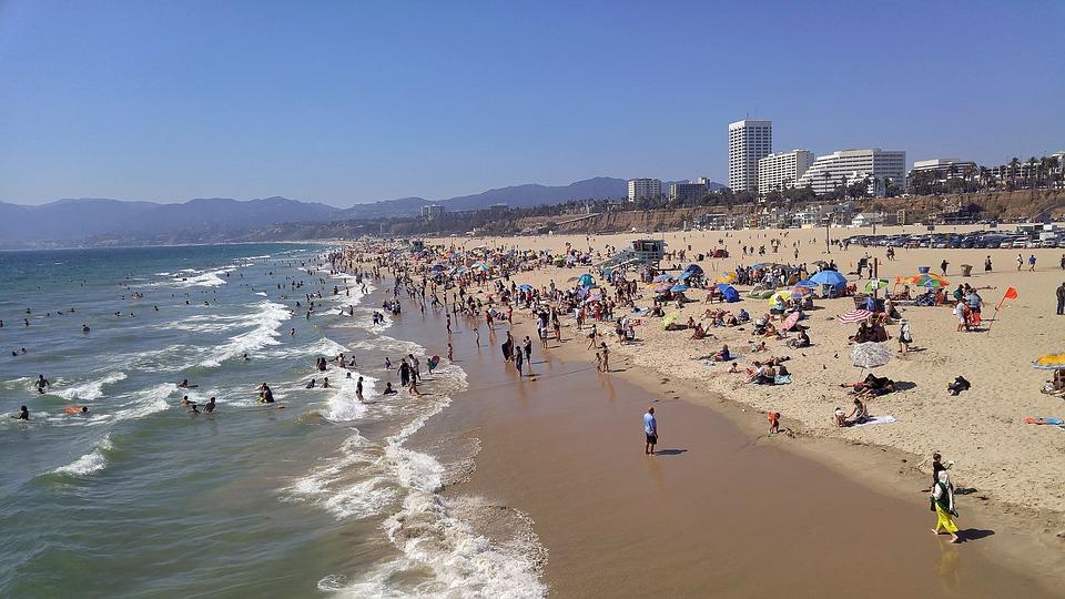 Water, Crowd, Sea, Large Group Of People