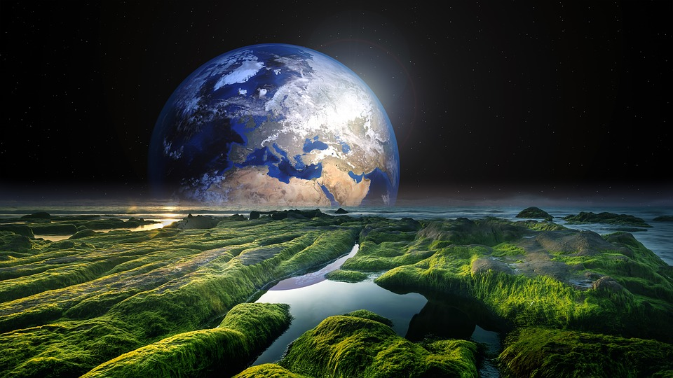 Solaris, World, Earth, Watts, Sea, Space, Nature