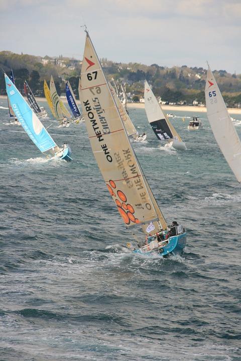 Sailing, Sea, Figaro, Regatta