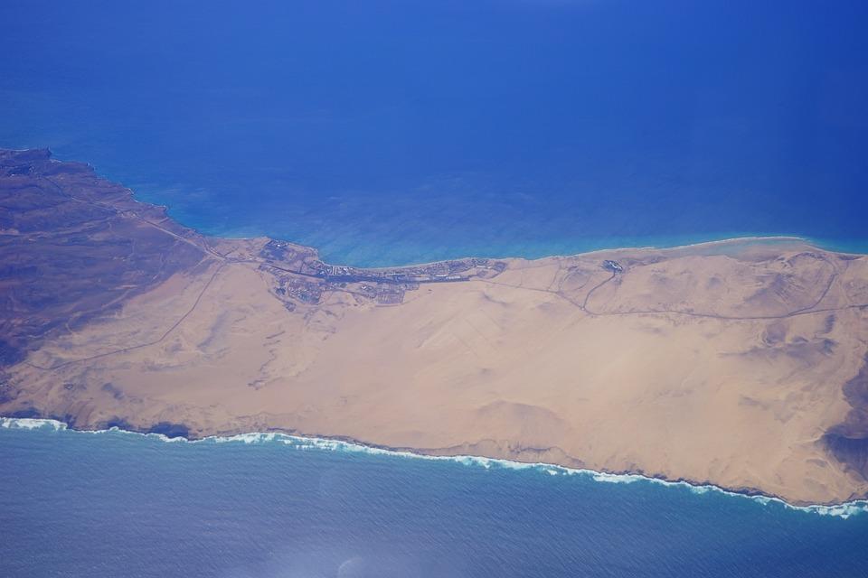 Fly, Outlook, Deep View, Sea, Island, Fuerteventura