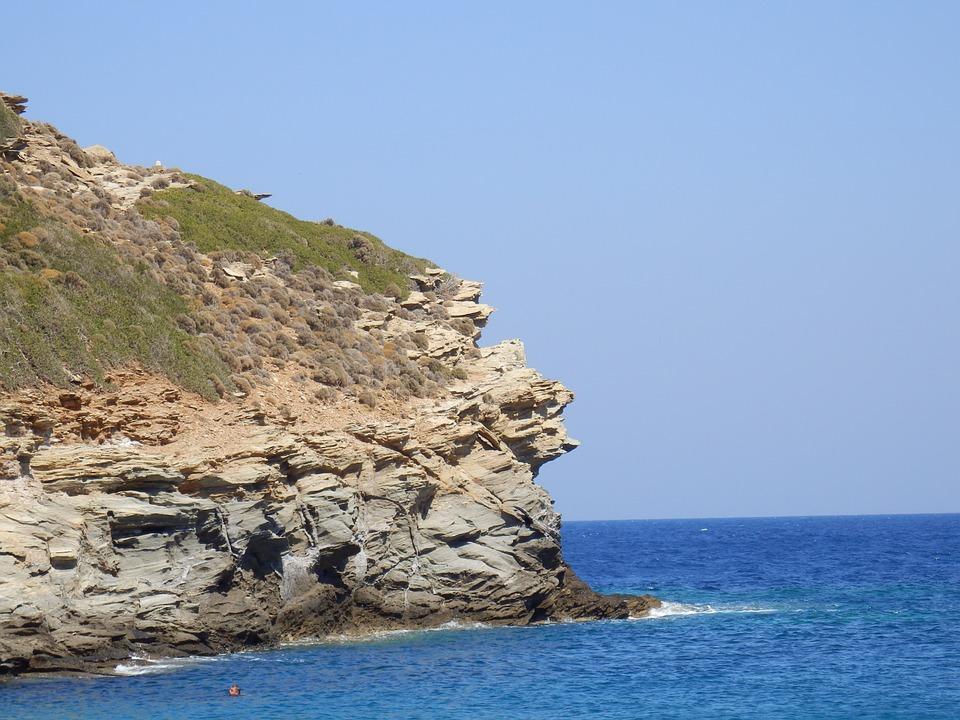 Greek Islands, Andros, Cyclades, Cycladic, Sea, Aegean