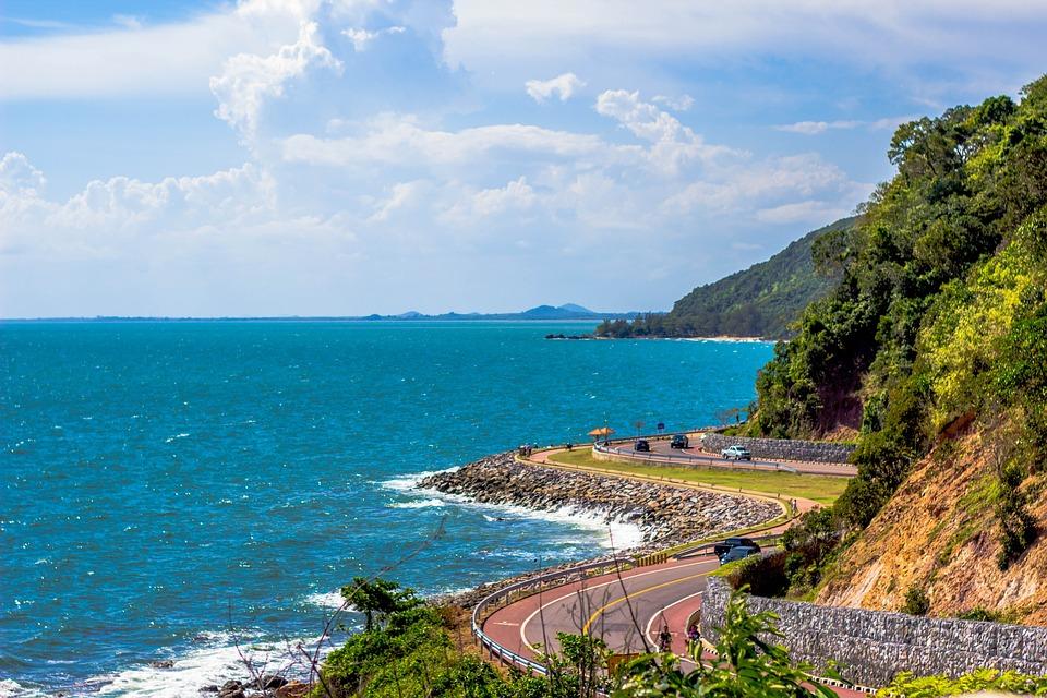 Thailand, Sea, Asia, Travel, Wave, Green, Tourism