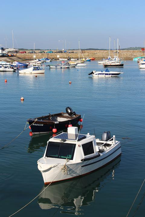 Penzance, Coast, Harbour, Dockside, Cornwall, Sea
