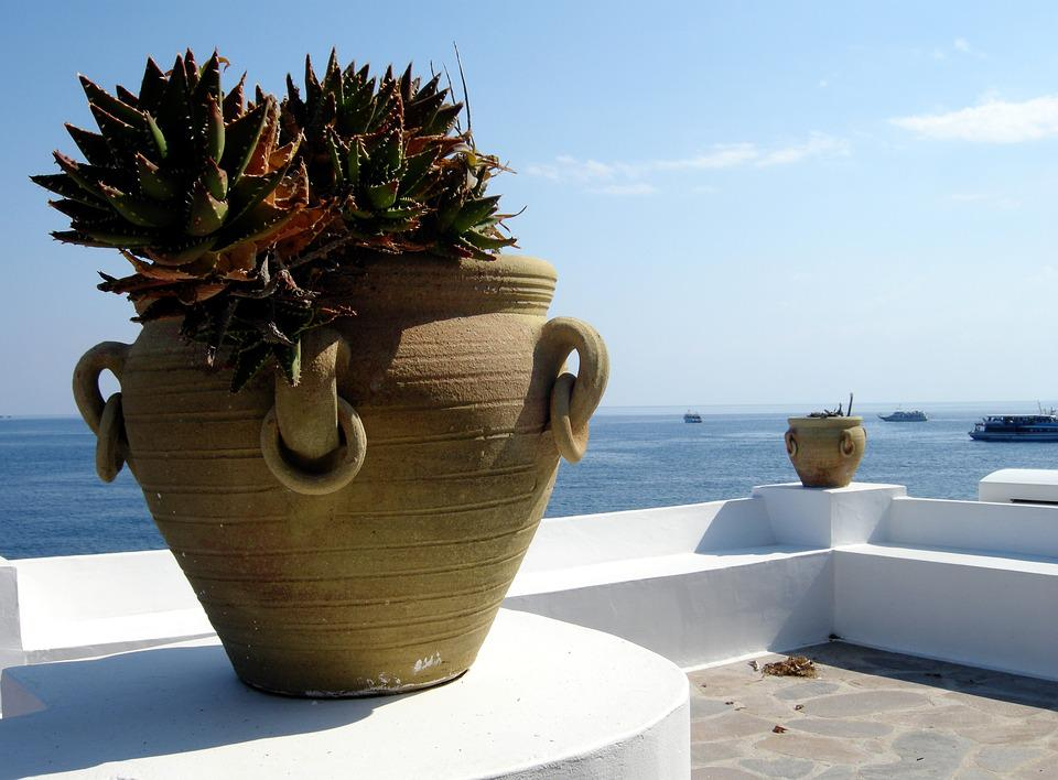 Sea, Summer, Holiday, Blue, Water, Island, Plant