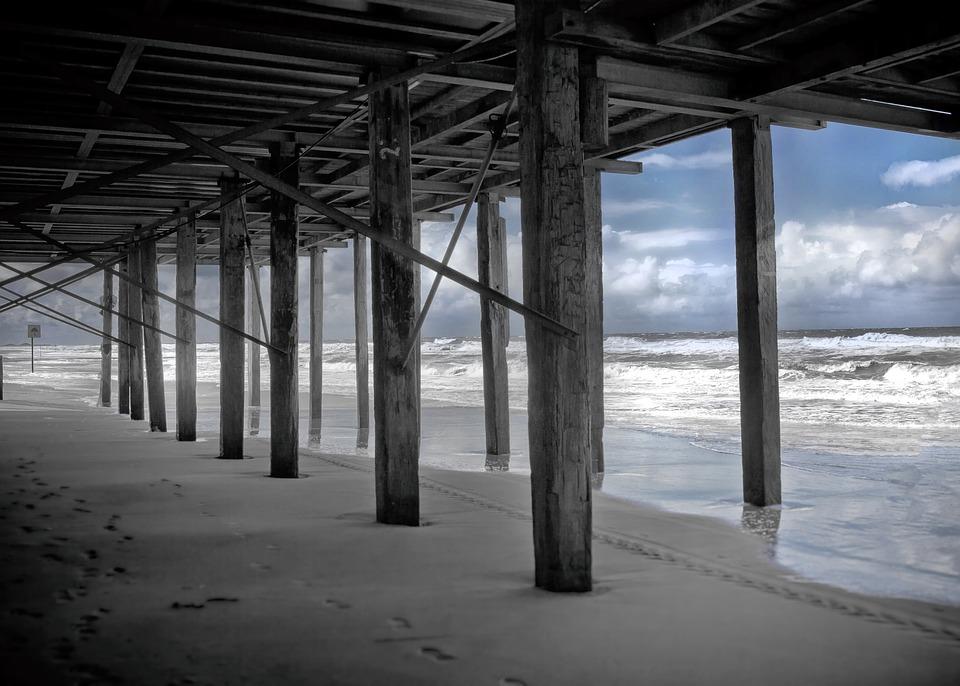 Beach, Sea, Holiday, North Sea, Summer, Nature
