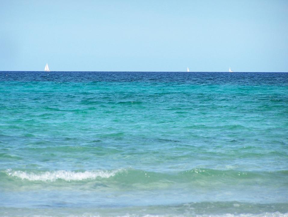 Sardinia, Sky, Water, Sea, Holiday, Mediterranean