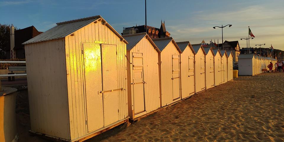 Sea, View, Beach, Sand, Holiday, Cabin, Sky, Sunny