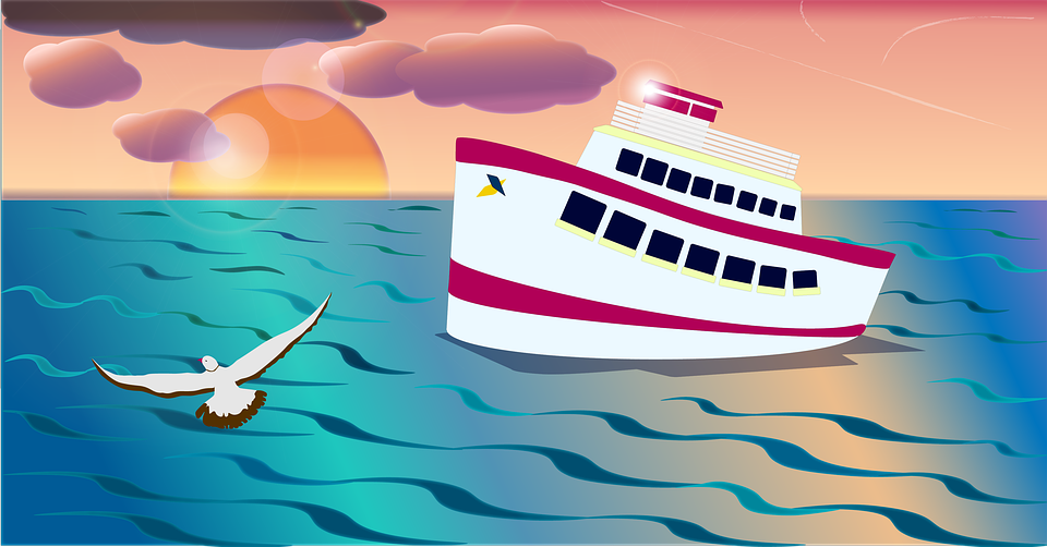 Sea, Ship, Holidays, Travel