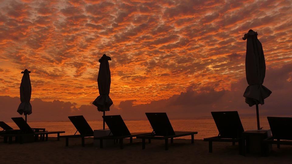 Bali, Indonesia, Sanur, Sea, Holiday, Beach, Sunrise