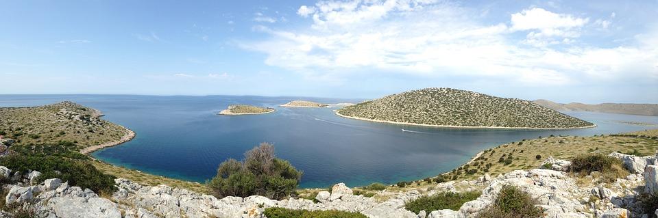 Islands, Drop, Oil, Sea