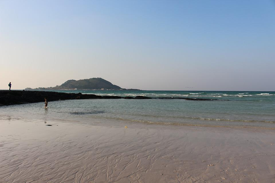 Sea, Jeju Island, Island
