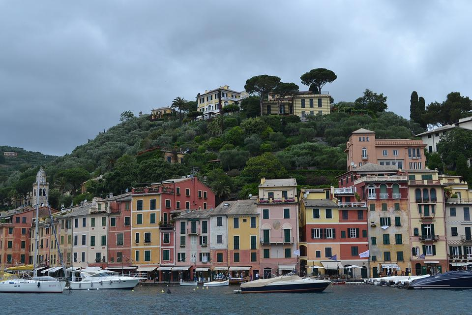 Portofino, Liguria, Italy, Sea, Travel, Landscape