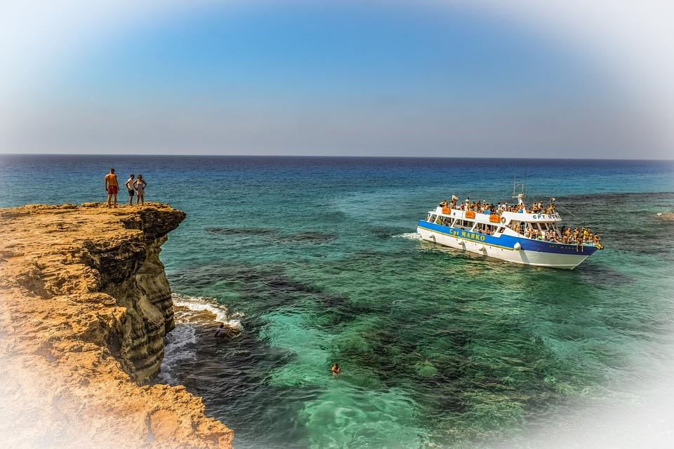 Cyprus, Cavo Greko, Sea Caves, Nature, Landscape, Sea