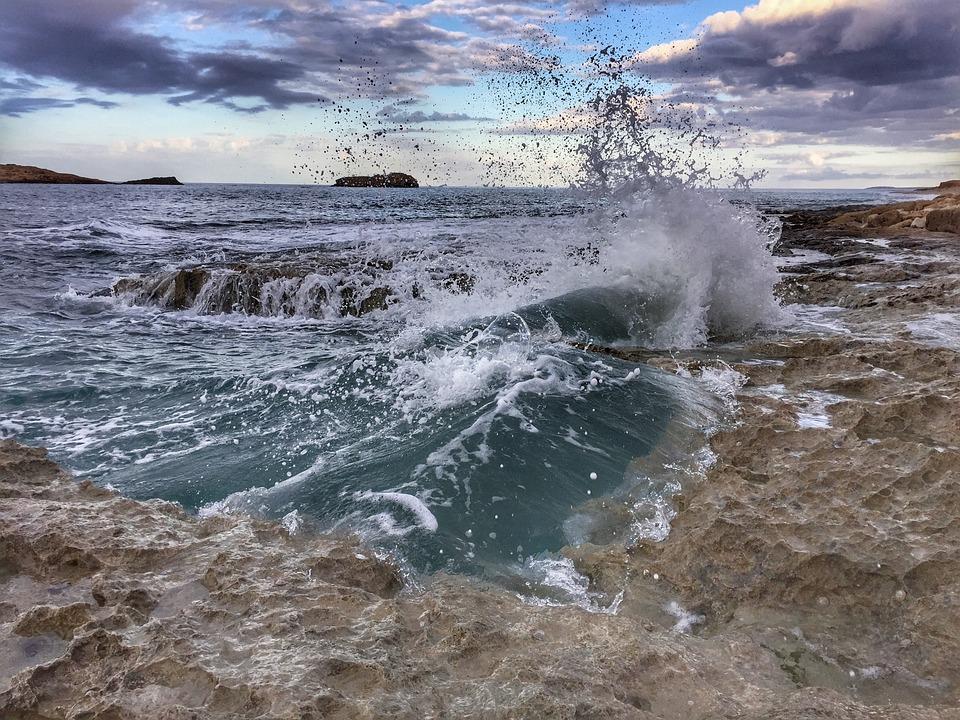 Sea, Cyrene, Libya