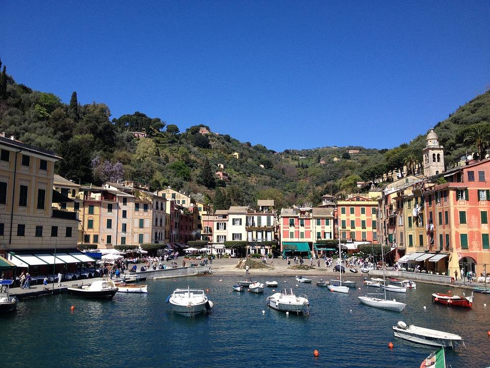 Portofino, Italy, Liguria, Riviera, Sea