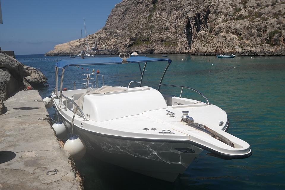 Gozo, Booked, Sea, Rock, Lonely, Rocky Coast