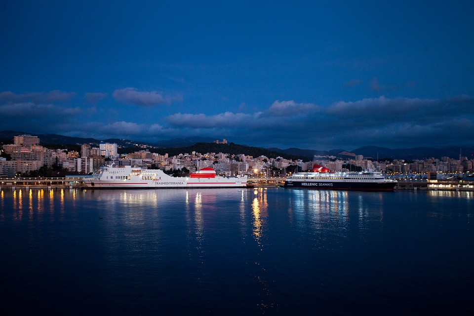 Palma De Mallorca, Port, Morgenstimmung, Mallorca, Sea
