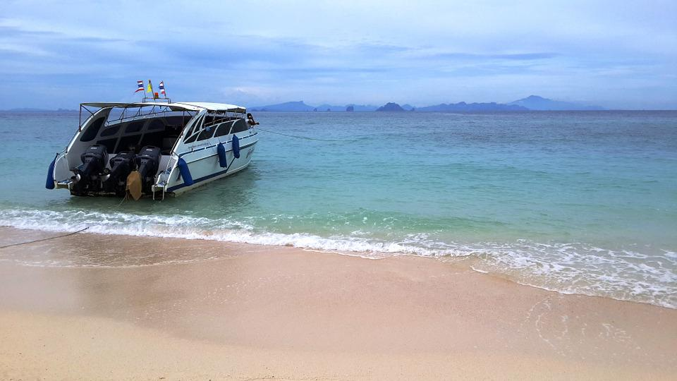 May Share The Island, Krabi Thailand, Surf, Sea, Lagoon