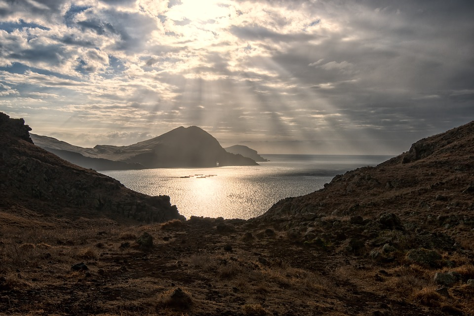 Sunrise, Madeira, Sea, View, Nature, Morgenstimmung