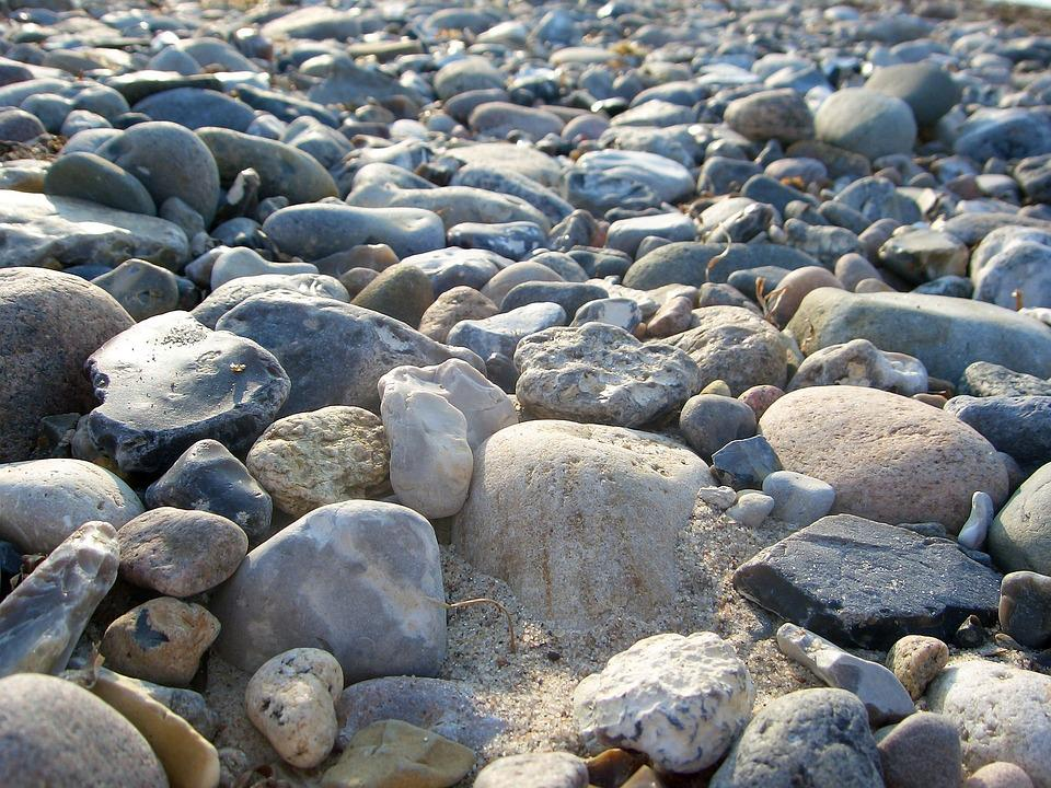 Stone, Nature, Water, Coast, Tide, Smooth Smooth, Sea